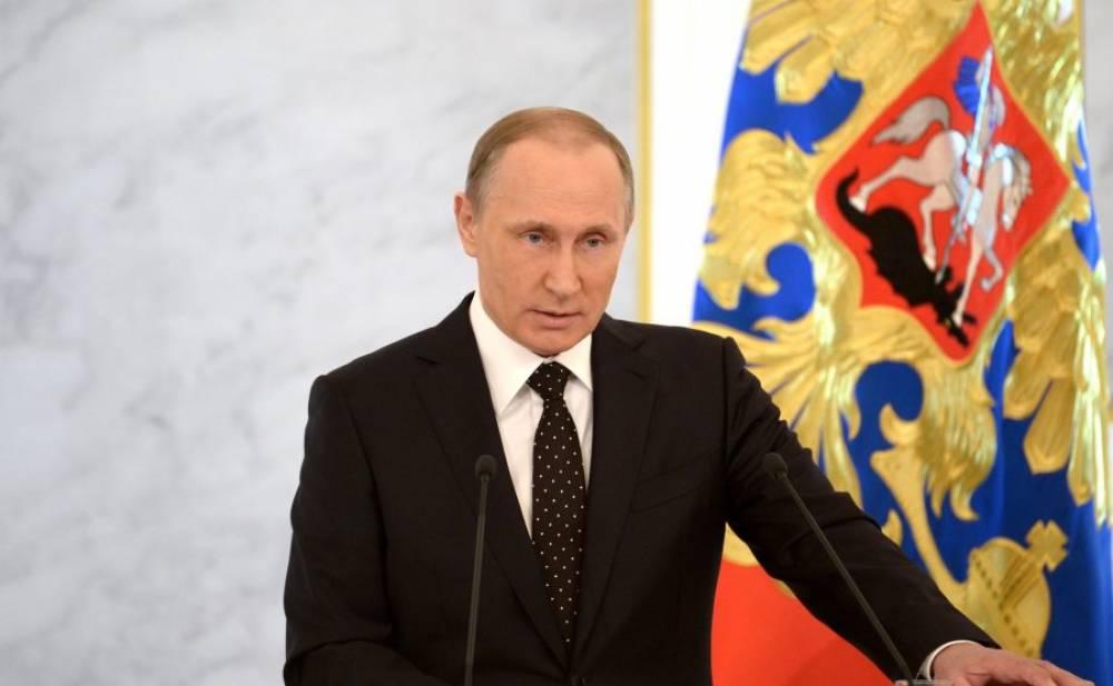 Письмо Владимира Путина избранникам смотрело рекордное небольшое число телезрителей