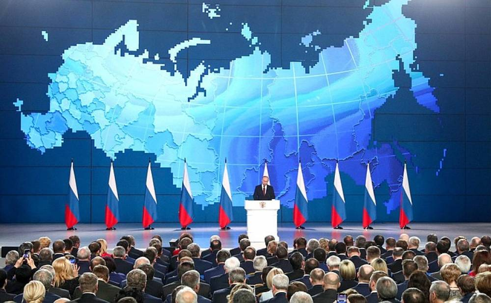 О чем Путин говорил в послании к Федеральному собранию