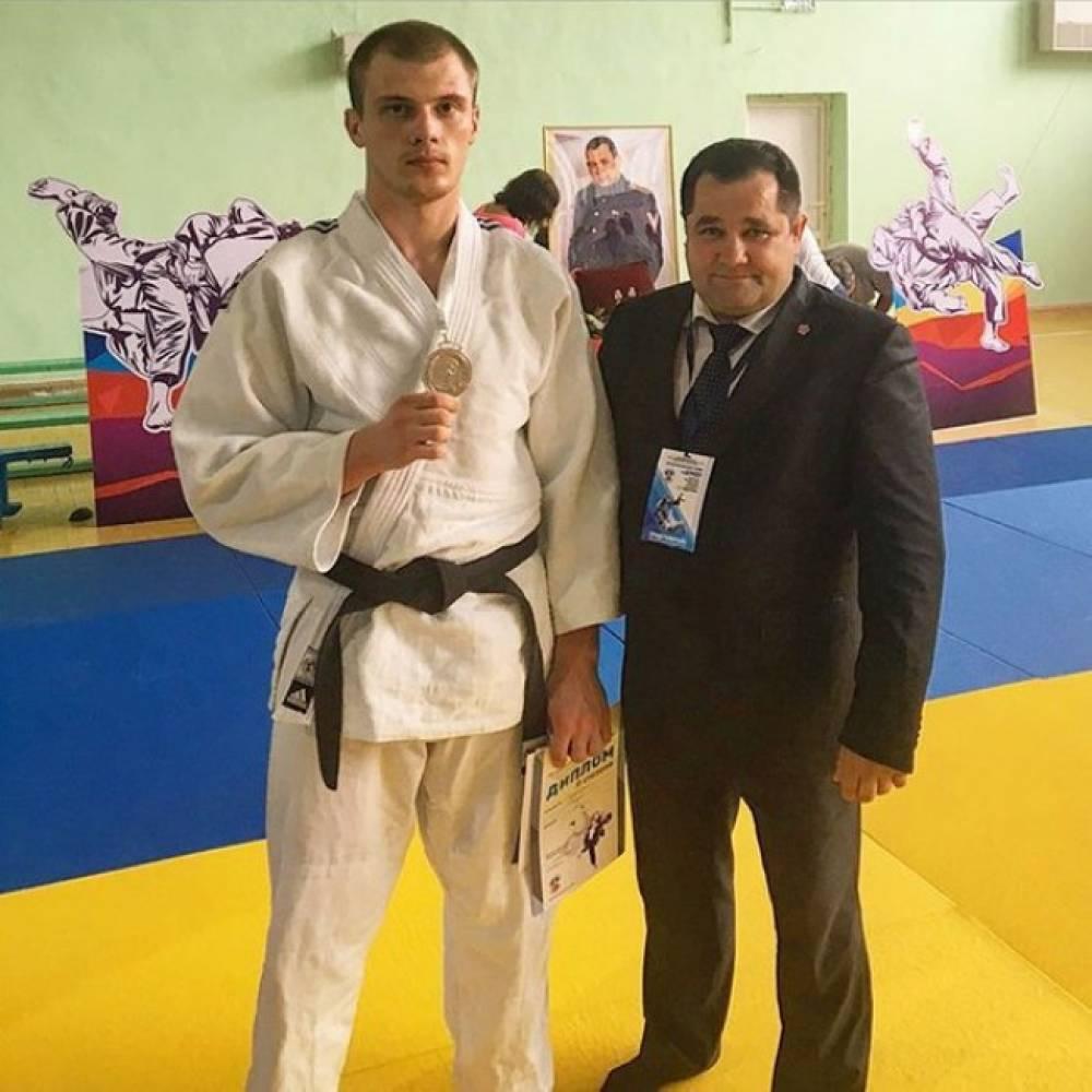 Феодосиец - Андрей Гордиенко - второй на Всероссийском мастерском турнире по дзюдо