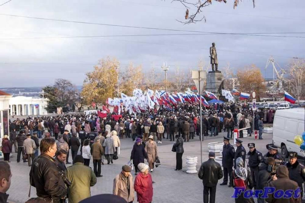 Хроника Русской весны. Пролог (ноябрь)