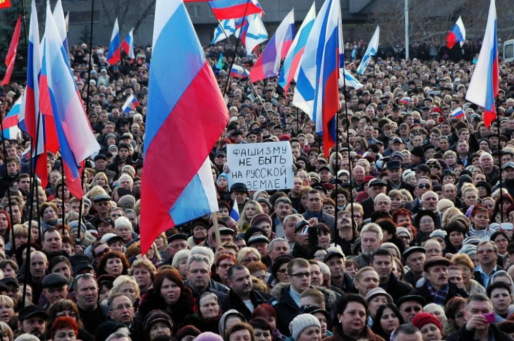 Хроника Русской весны: 23 февраля