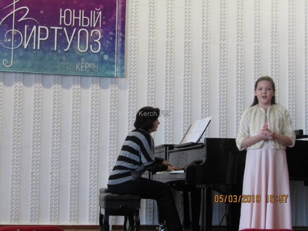 Керченские музыканты приняли участие в смотр-конкурсе  «Юный виртуоз»