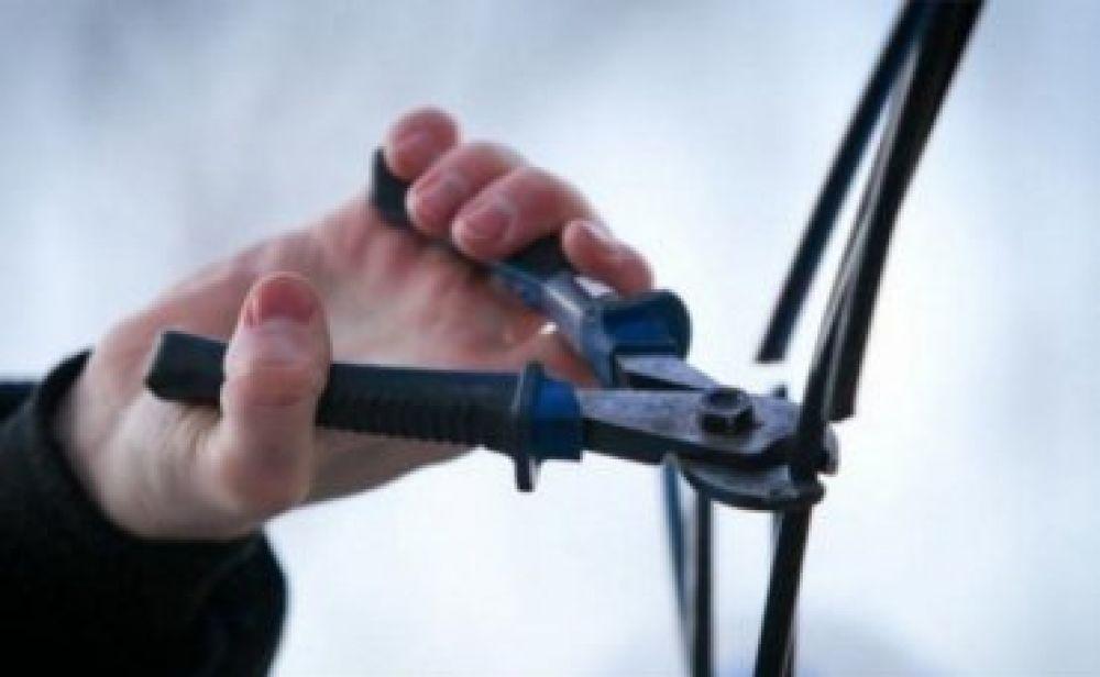 Феодосийские полицейские вычислили похитителя кабеля связи