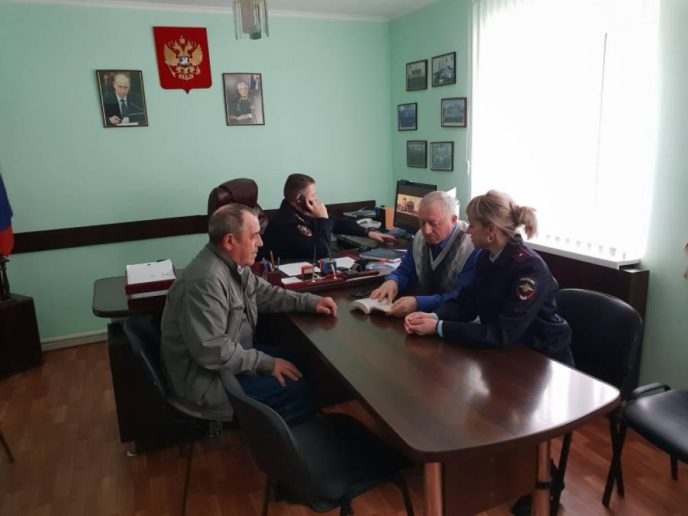 Состоялось очередное заседание Общественного совета при ОМВД России по Советскому району
