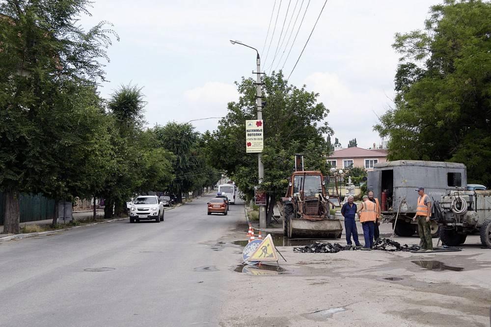 Возобновить подачу воды в центре Феодосии планируют в течение сегодняшнего дня