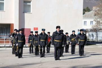 В Кизилташе почтили память офицеров, погибших во время государственного переворота в Киеве