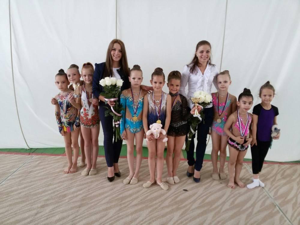 Феодосийские гимнастки стали лучшими в России