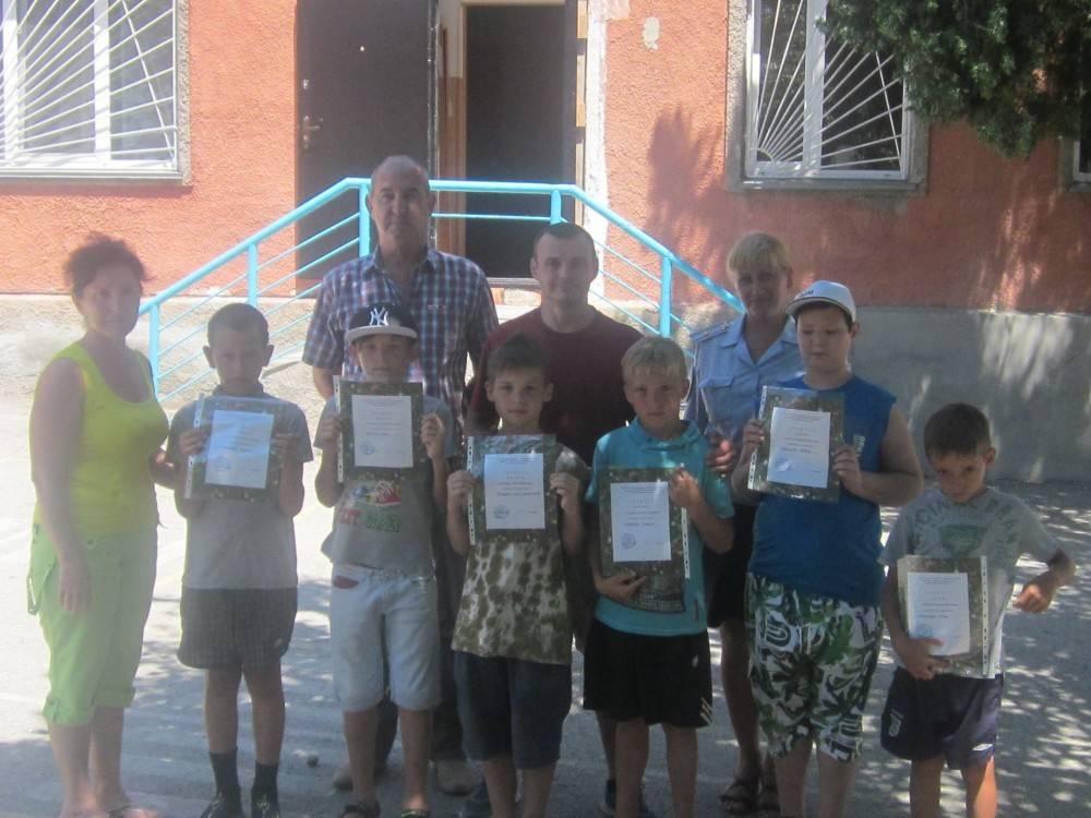 Феодосийские полицейские провели профилактические встречи с несовершеннолетними, состоящими на учете в ОВД