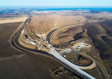 Строительство трассы «Таврида» идет по плану