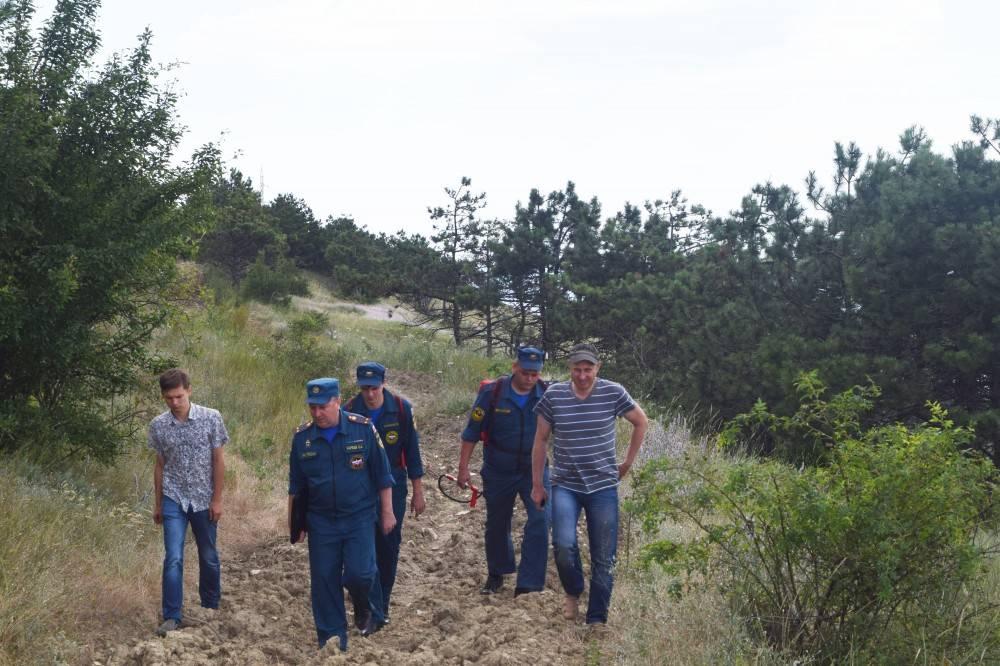 В Феодосии проверили леса