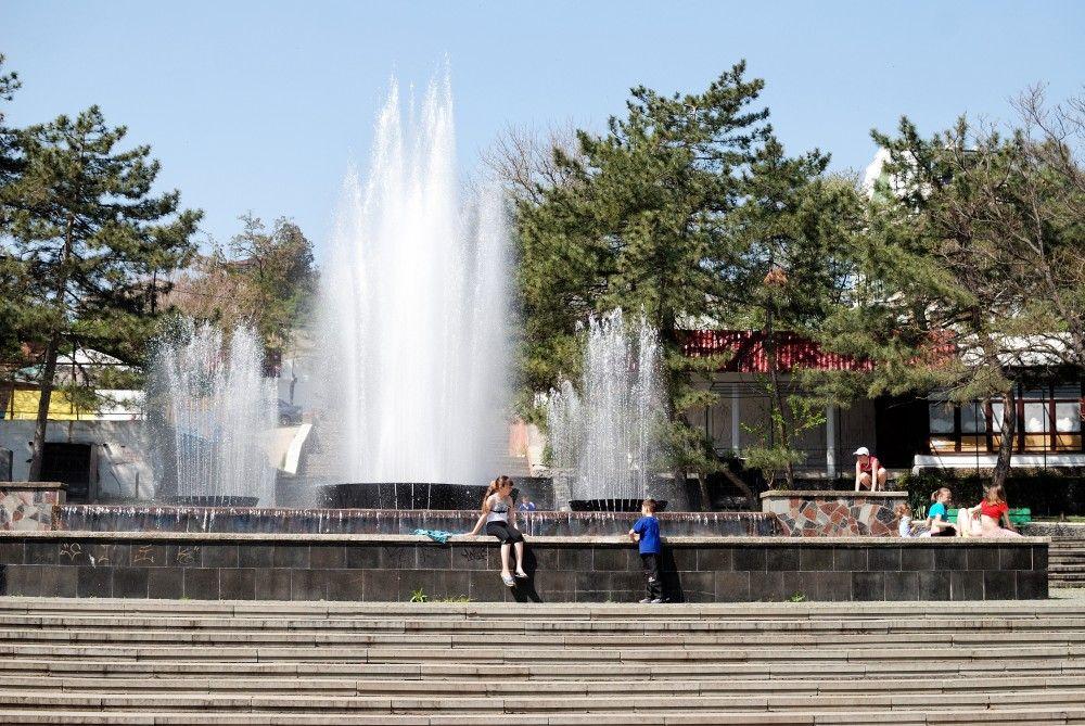 Переделка Светомузыкального фонтана