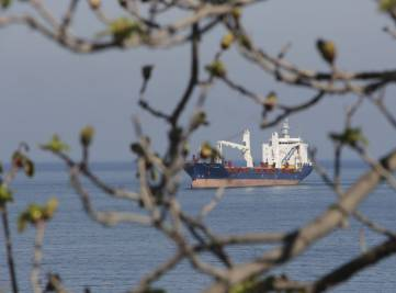 Заход в феодосийский порт