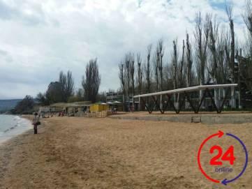 Новое «лицо» феодосийского пляжа