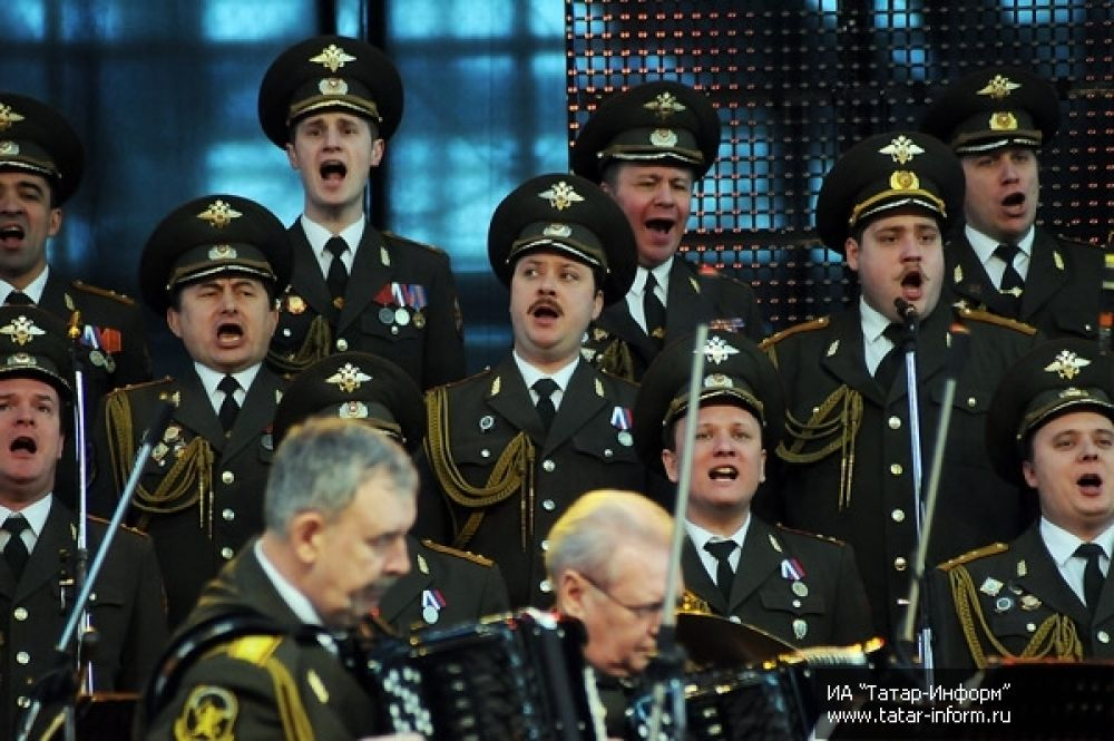 Выступление оркестра культурного центра МВД