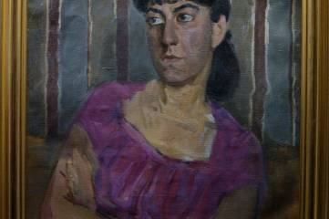 В Коктебеле открылась уникальная выставка работ Виктора Цигаля