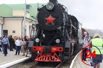 В Феодосию прибыл долгожданный поезд