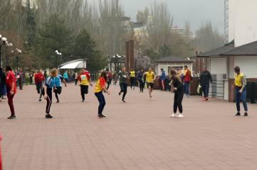 Легкоатлетическая эстафета (ФОТО ВИДЕО)