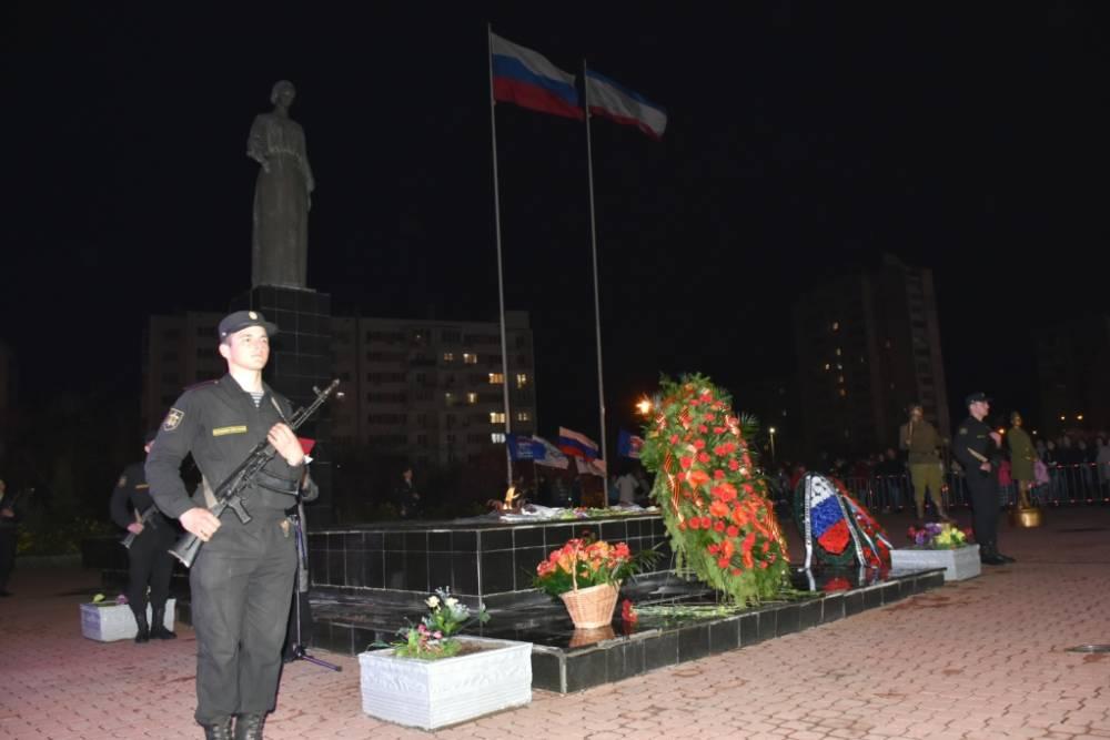 Евпаторийцы почтили память погибших на мемориале «Красная горка»