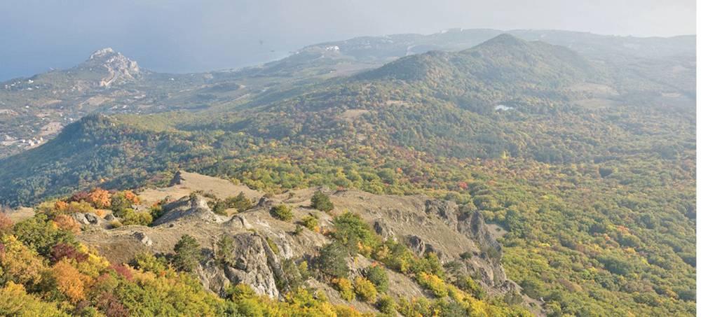 Где в Крыму находятся потухшие и действующие вулканы