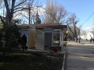 Новые НТО в Феодосии на старом месте