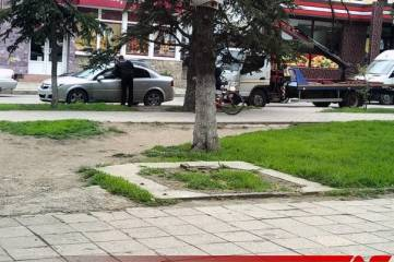 Как и обещали, эвакуатор в Феодосии начал работу