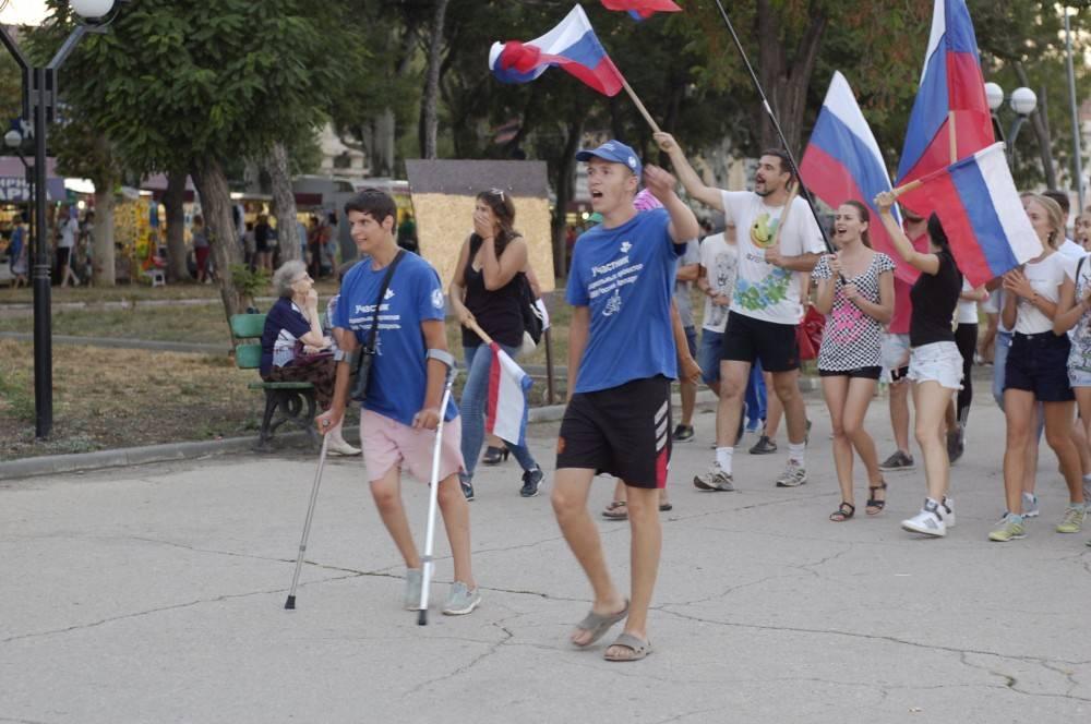 Феодосийцы выступили за российских паралимпийцев