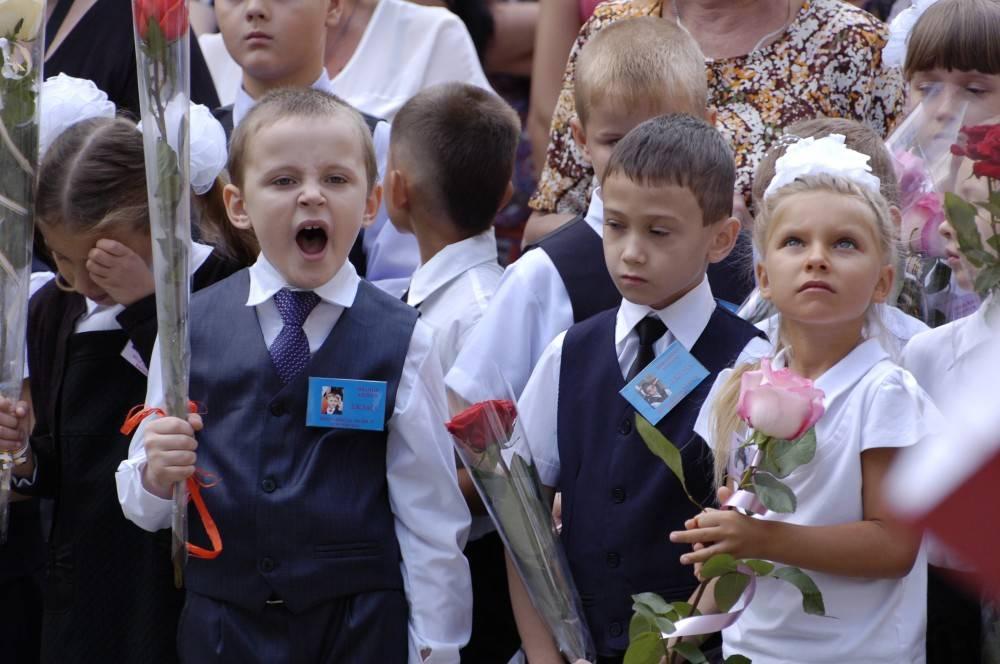 Старт дня: Первые звонки в феодосийских школах