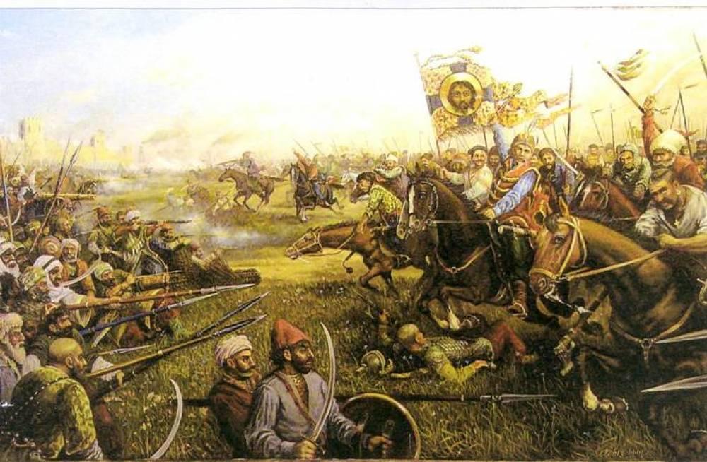 Как русские войска брали Феодосию