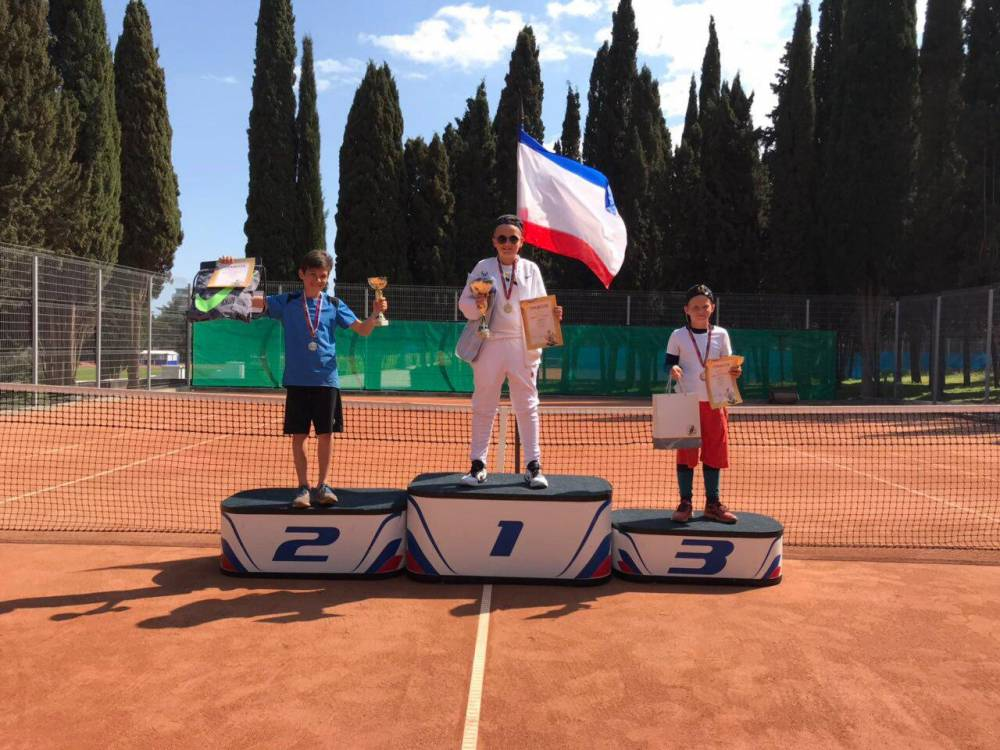 В Крыму определили «Надежду тенниса»