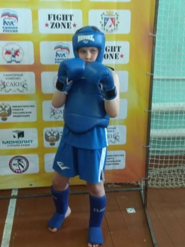 Феодосийский чемпион и призерка по таю