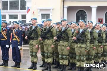 Военный парад в Феодосии (фоторепортаж)