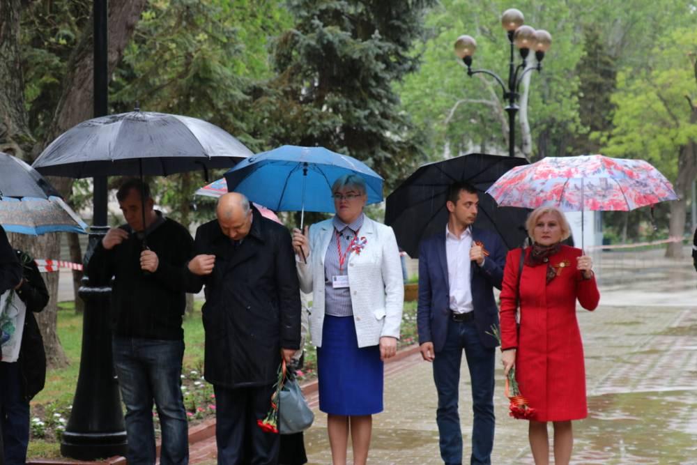 Как прошел День Победы в Феодосии