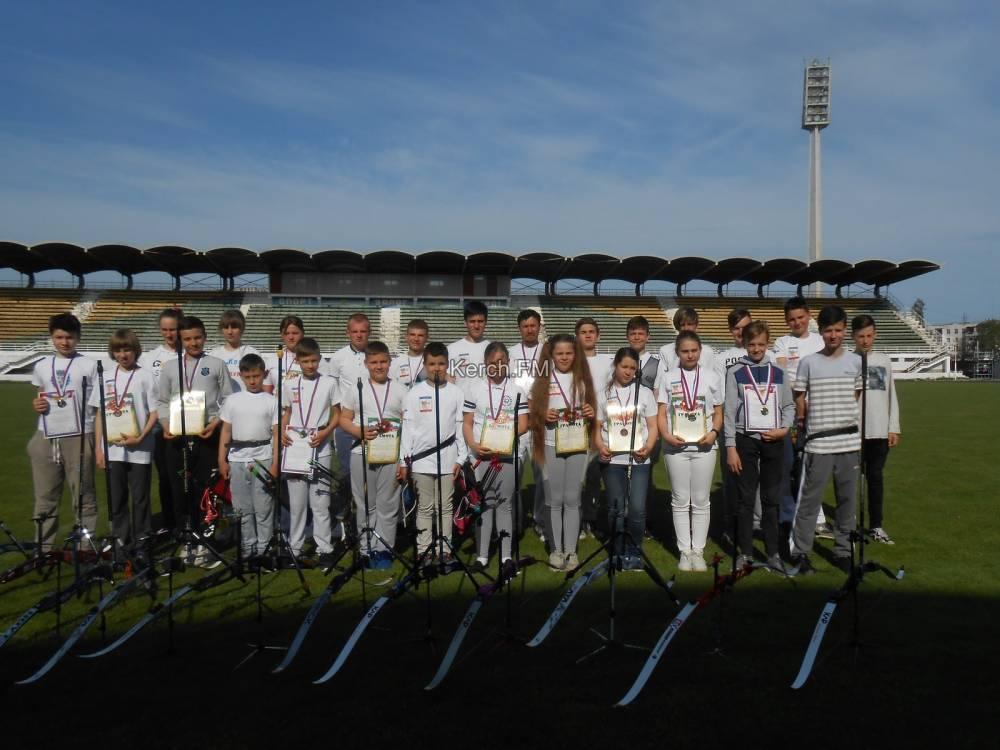 Чемпионат по стрельбе из лука прошел в Керчи