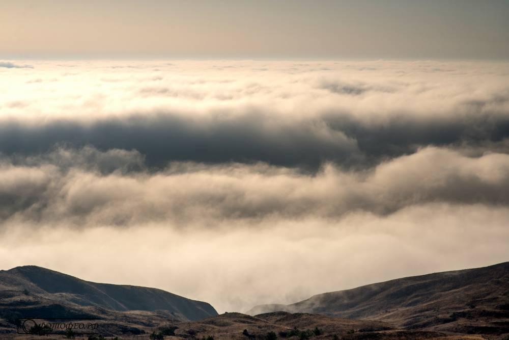 Погода в Крыму: Уже холодно, местами дождь и туман