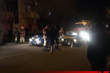 На улице Русской произошла авария