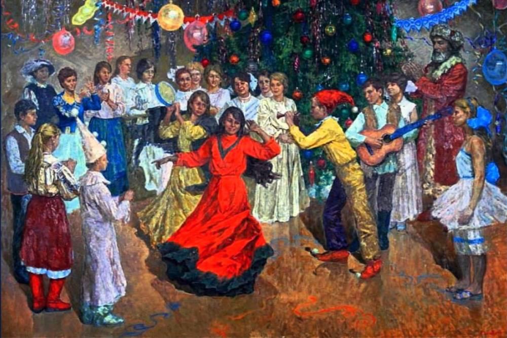 Афиша ФГДК, Новогодние утренники в Феодосийском Доме культуры