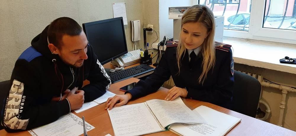 Майор Виктория Лаферова, консультирование граждан, неделя правового консультирования