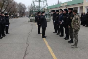 Совместный инструктаж комплексных сил, ОМВД по г.Феодосия, развод сил на Привокзальной площади