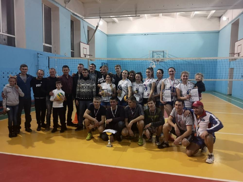 Первый Чемпионат по волейболу пгт. Приморский, волейбол