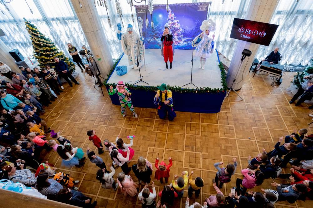 Государственный академический Музыкальный театр, Новогодний марафон в Музыкальном театре, новогодние представления в Музыкальном театре