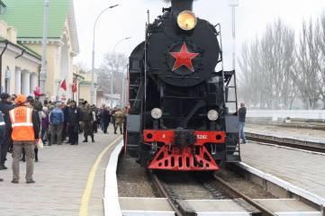 На первом поезде в Крым едут 530 пассажиров и похолодание ждет Крым на этой неделе