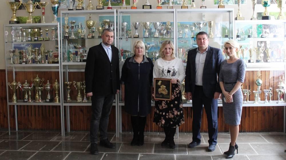 Белогорский район с рабочим визитом посетила министр спорта Республики Крым Ольга Торубарова