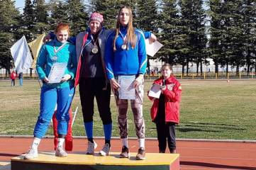 Крымские метатели завоевали три медали на Всероссийских соревнованиях в Сочи