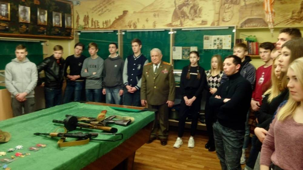В Ялте в музее боевой славы состоялось мероприятие, приуроченное к 31-годовщине вывода советских войск из Афганистана