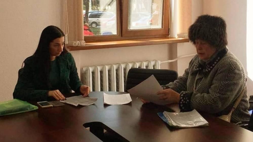 Депутат Ялтинского горсовета Мария Придатченко провела приём граждан