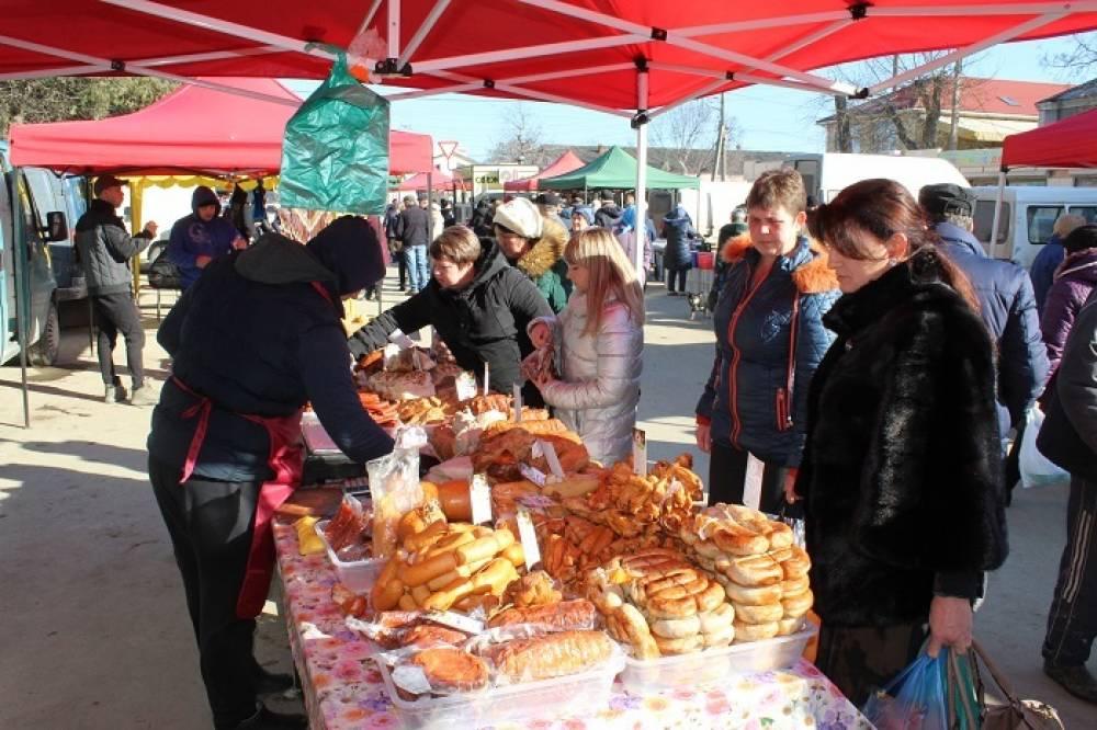 Еженедельно в Белогорске проходят ярмарочные мероприятия