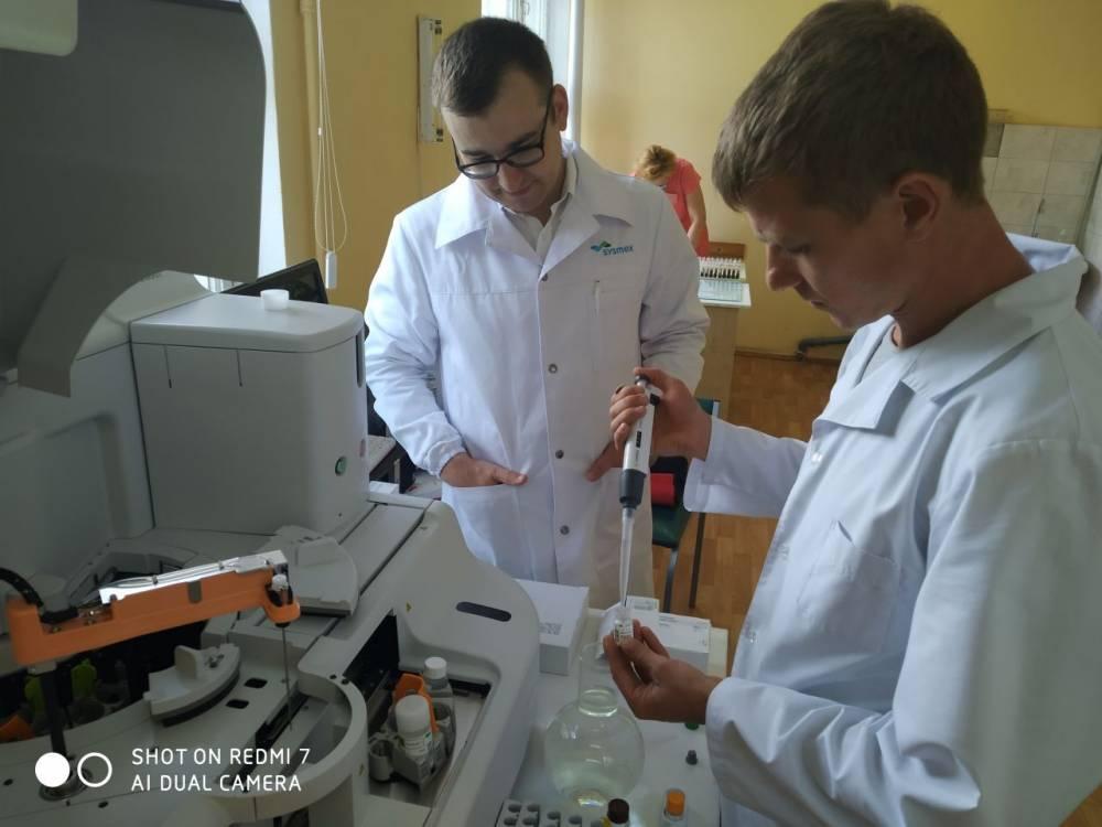В ГБУЗ РК «Феодосийский медицинский центр» установлен современный автоматический коагулометр японской системы «Sysmex».