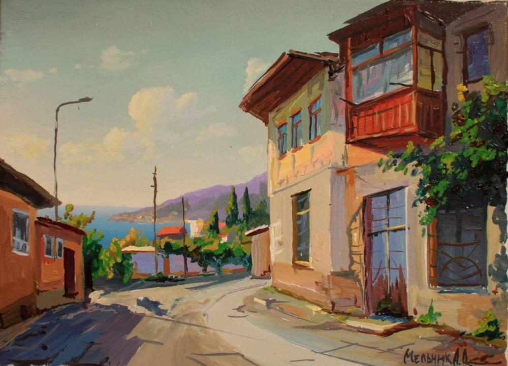 Выставка художника Александра Мельника, музей Грина