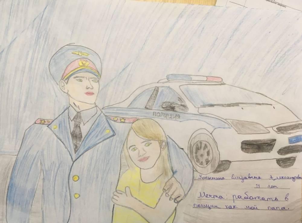 Конкурсная работа Елизаветы направлена в МВД по Республике Крым для участия в региональном этапе конкурса.