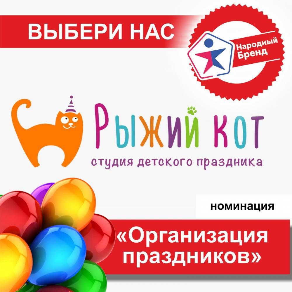 Детская игровая комната «РЫЖИЙ КОТ» участник конкурса Народный Бренд